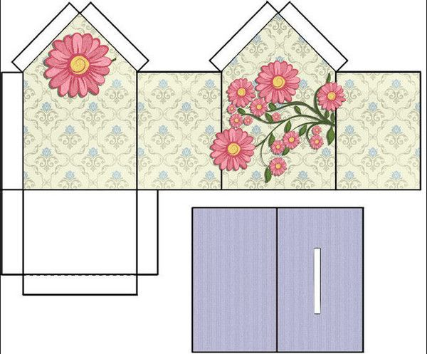 Tirelires a imprimer for Maison en carton a colorier