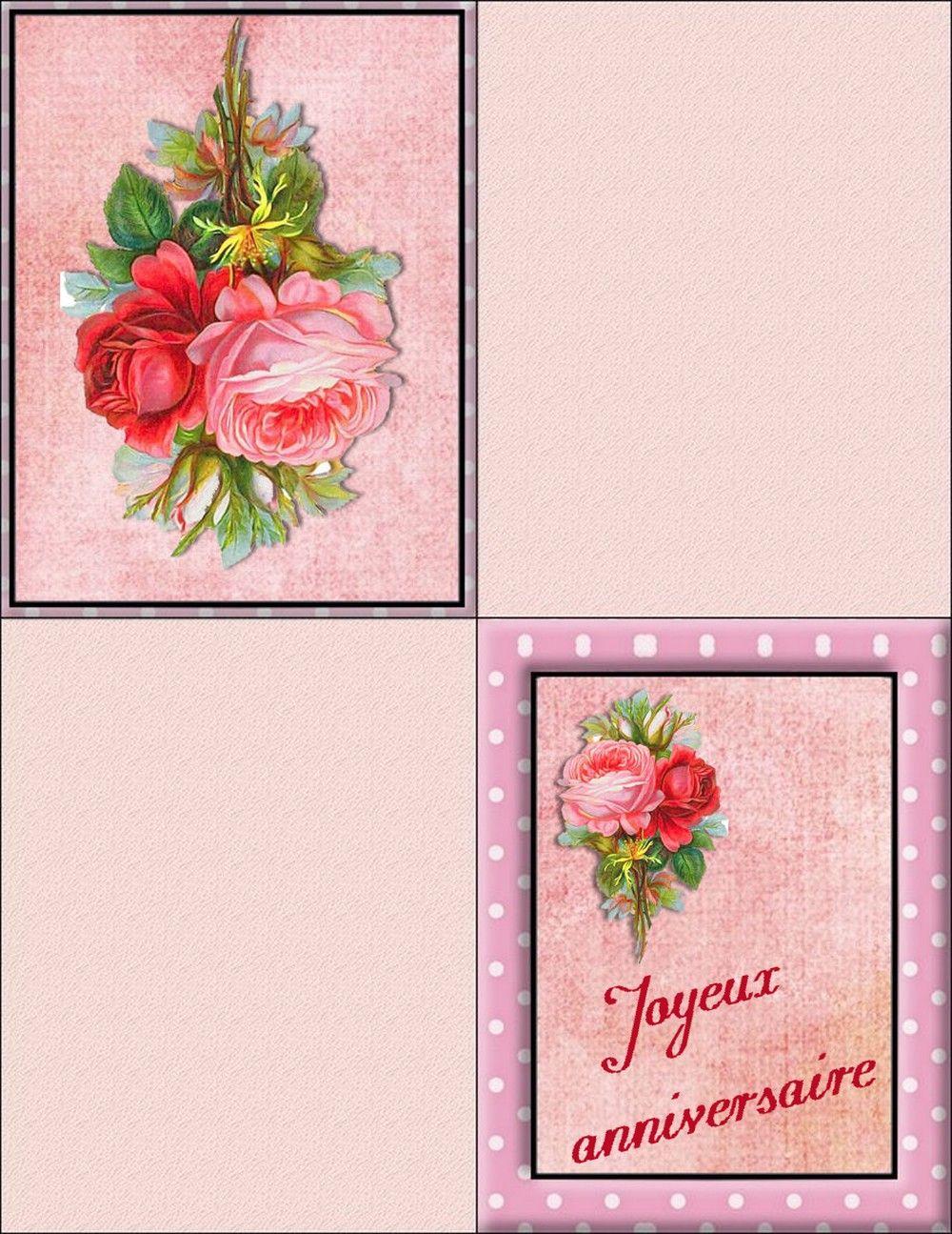 Carte Anniversaire A Imprimer